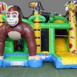 aap jungle springkussen multiplay luchtkussen getup verhuur huren scharsterbrug