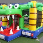 krokodil mini springkussen getup verhuur friesland huren